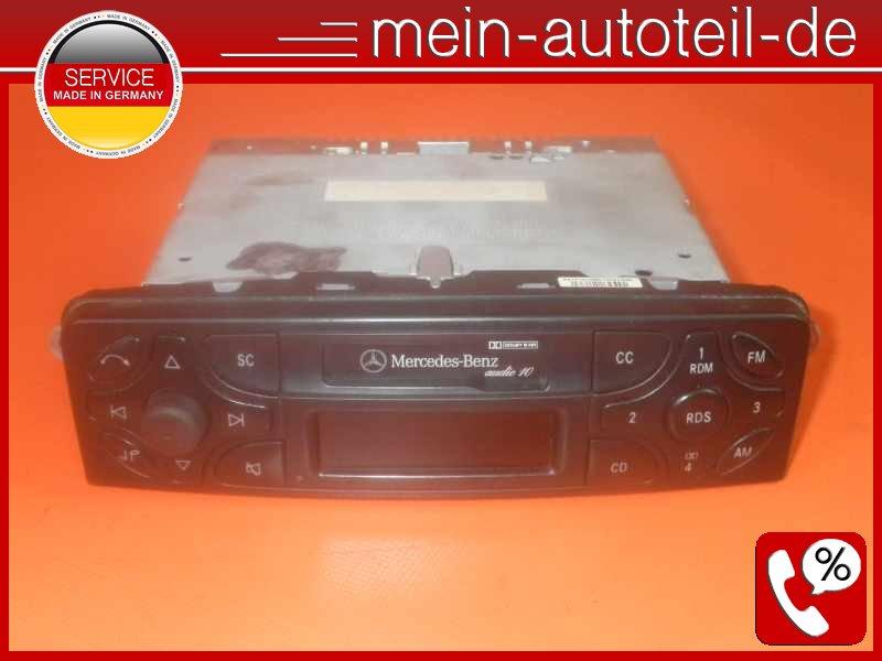mercedes w203 s203 radio audio 10 cc ece 2038201686. Black Bedroom Furniture Sets. Home Design Ideas