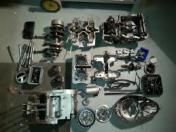 Motor in Teilen