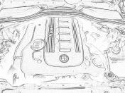 engine motor compartment