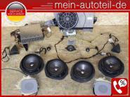 Mercedes S211 Harman Kardon Soundsystem KOMPLETTES SET Umrüstung Umbau