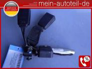 Mercedes S203 Gurtschloss Gurtstraffer HR + Mitte 2038600289 Kombi Rechts
