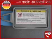 Mercedes S211 Sonnenblende Re Spiegel Rahmen Classic 2118110010 - Etnagrau A2118