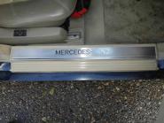Mercedes W140 C140 Türeinstiegsleisten Chrom gebürstet 1406800335 + 1406800435 +