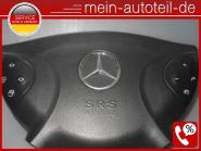 Mercedes W211 S211 Fahrerairbag Schwarz (2002 - 2006) 2118601202 Oriongrau A2118