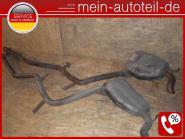 Mercedes W211 S211 E 320 T CDI Auspuff R u. L 2114908035 + 2114908135 - 642920 A