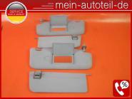 Mercedes W211 Sonnenblenden R u. L Doppelt ORIONGRAU Avantgarde 2118101010 + 211