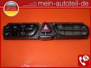 Mercedes W203 S203 Schalterblock Sitzheizung, PDC Elegance 2038215781 Wurzelholz