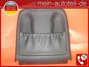 Mercedes W211 S211 Ledersitz Fahrersitz Sitz Verkleidung VL Sitzverkleidung Belü