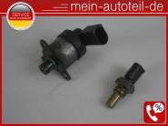 Mercedes S211 280 CDI Druckregelventil + Temperaturgeber 6420740184 + 0051536328
