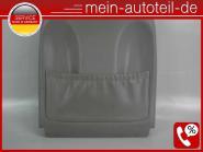 Mercedes W211 S211 Sitzverkleidung VL Leder Grau 2119101139 LEDER NAPPA GRAU A21