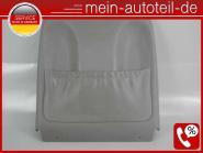 Mercedes W211 S211 Sitzverkleidung VR Leder Grau 2119100439 LEDER NAPPA GRAU A21