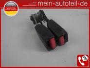 Mercedes S211 Gurtschloss HR Fond Rechts KOMBI Schwarz (2006-2009) 2118604669 -