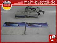 Mercedes W211 S211 Taxi Innenspiegel TAXAMETER mit Anleitung 2118105117 Etnagrau