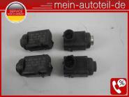 Mercedes W251 SET 4 X PDC Sensor Mix (2002-2006) 197 Obsidanschwarz 0015427418 B