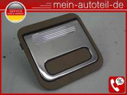 Mercedes S211 Verschluss Ablagefach Laderaumboden Chrom 2116802184 - Buckskin 21