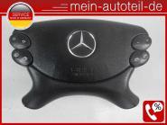 Mercedes W211 S211 MOPF Fahrerairbag SRS Schwarz w219 w463 2198601502 Etnagrau a