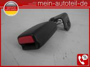 Mercedes S211 Gurtschloss HL Fond Rechts KOMBI Schwarz (2006-2009) 2118604569 Ko