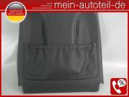 Mercedes W211 S211 Sitzverkleidung VR Belüftung Leder Schwarz 2119102639 Nappa L