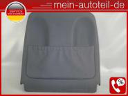 Mercedes W211 S211 Sitzverkleidung VL Leder Pazifikblau 2119101139 LEDER BLAU A2