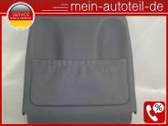 Mercedes W211 S211 Sitzverkleidung VR Leder Pazifikblau 2119101239 LEDER BLAU A2