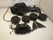 Mercedes S203 BOSE Soundsystem Boxen mit Kabelbaum 2038275142 (Verstärker) lauts