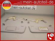 Mercedes W211 S211 KOMPLETT SET Sonnenblenden R u. L beleuchteter Spiegel ETNAGR