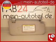 Mercedes S211 Sonnenblende RE Doppelt ORIONGRAU Avantgarde 2118101010 Oriongrau