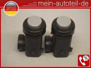 Mercedes C219 SET 2 X PDC Sensor 775 Iridiumsilber (2002-2006) 775 Iridiumsilber