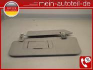 Mercedes W164 Doppelsonnenblende Li 1648102110 + 1648101110 Alpacagrau A16481021