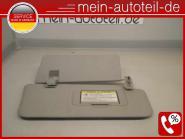 Mercedes W164 Doppelsonnenblende RE 1648102210 + 1648101210 Alpacagrau 164810221
