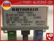 Mercedes S212 Antennenweiche Telestart 2218270042 KATHREIN A2218270042, A 221 82
