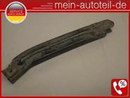 Mercedes W164 Frontstoßstangenhalter Li 197 Obsidanschwarz 1648800314 A164880031