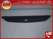 Mercedes W164 Laderaumabdeckung SCHWARZ 1648100109 Alpacagrau A1648100109, A164