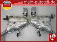 Mercedes W164 ML 420 CDI 4-matic SPORTPAKET Auspuff 420 CDI RE + Li 1644906715 +