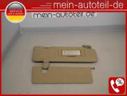 Mercedes W164 Doppelsonnenblende RE 1648102210 + 1648101210 A 164 810 24 10, A 1