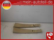 Mercedes W164 Verkleidung B-Säule Re + Li BUCKSKIN 1646909725 + 1646909825 A1646