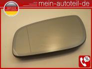 Mercedes W211 S211 Spiegelglas Li aut. Abblendbar Asphärisch MOPF (2006-2009) 21