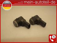 Mercedes S211 SET 2 X PDC Sensor 368 Flintgrau Met. (2006-2009) 368 Flintgrau me