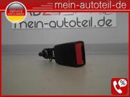 Mercedes W164 Gurtschloss H-Mitte Schwarz 1648601969 Limo Alpacagrau A1648601969