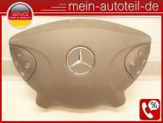 Mercedes S211 Fahrerairbag Grau (2002 - 2006) 2118600202 Etnagrau SRS Airbag Len