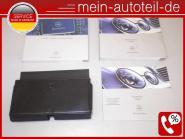 Mercedes S211 Betriebsanleitung Ledermappe (02-06) COMAND 2115841097 Kiesel 2115