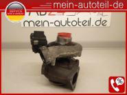 Mercedes S211 320 CDI KOMPLETTER Turbo mit Steuereinheit 6480960199 734899-0001