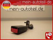 Mercedes S211 Gurtschloss HL Fond Links KOMBI Schwarz (2003-2006) 2118604169 - 2