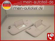 Mercedes S211 Sonnenblenden R u. L beleuchteter Spiegel Avantgarde 2118101010+21