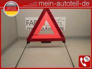 Mercedes W211 S211 ORIGINAL Warndreieck LIMO 2118900197 2118900397, 2118900197,