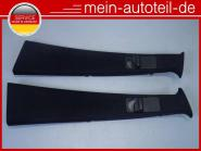 Mercedes W164 Verkleidung B-Säule Re + Li Schwarz 1646909725 + 1646909825 A16469