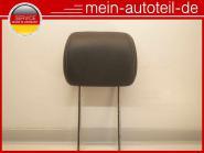 Mercedes W164 Kopfstütze Vorne LEDER 9D88 Schwarz 2519704450 Microfaser - Schwar