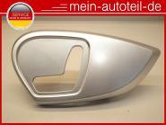 Mercedes W164 Abdeckung Sitzverstellung 2519180330 Microfaser - Schwarz Anthrazi