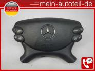 Mercedes S211 Fahrerairbag Schwarz (2006 - 2009) 2308600002 Oriongrau 2308600002