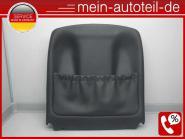 Mercedes W211 S211 Sitzverkleidung VL Leder Schwarz 2119104715 Kunstleder Schwar